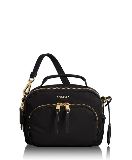 Troy Crossbody in Black