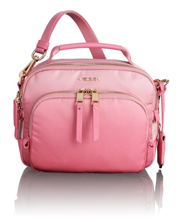 Troy Crossbody in Pink Ombre
