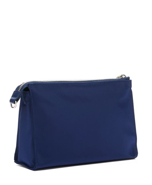BASEL SM TRIANGLE POUCH Blue - large | Tumi Thailand