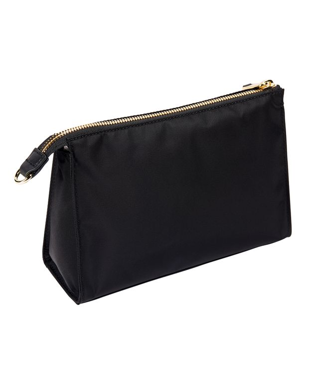 Black Basel Small Triangle Pouch