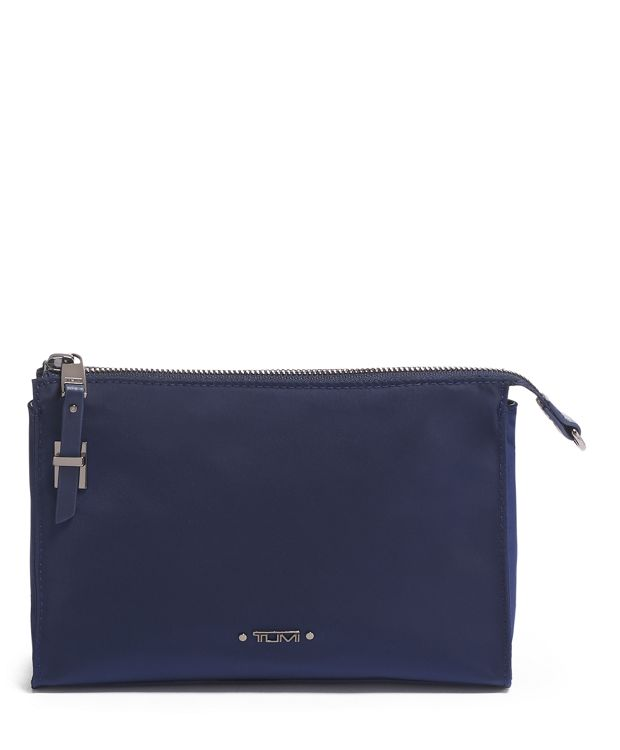 Basel Small Triangle Pouch in Midnight
