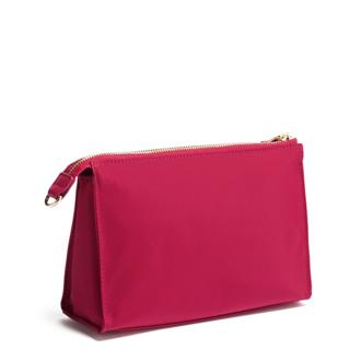 BASEL SM TRIANGLE POUCH RASPBERRY - medium | Tumi Thailand