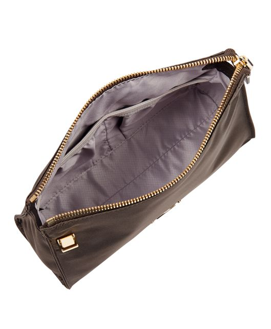 BASEL SM TRIANGLE POUCH Brown - large | Tumi Thailand