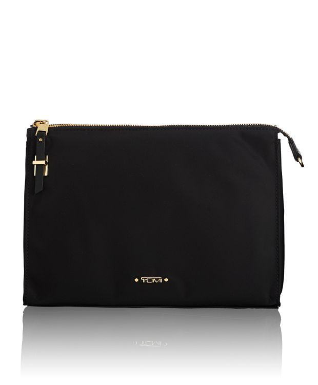 Basel Triangle Pouch in Black