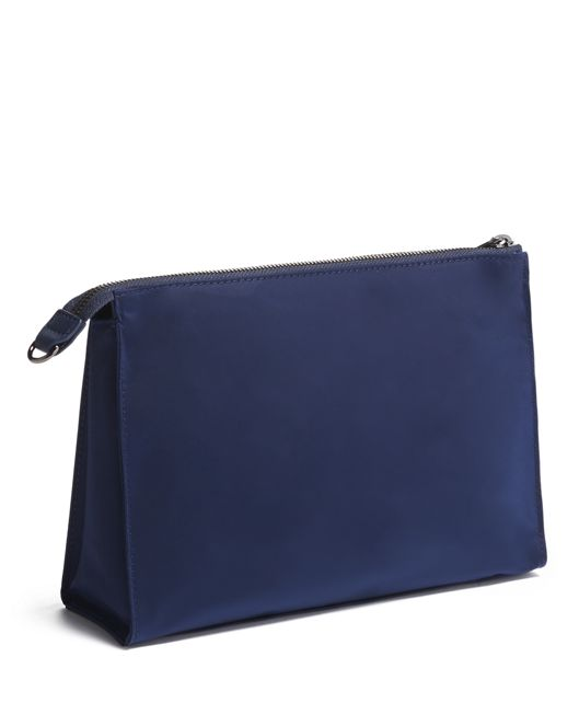 BASEL TRIANGLE POUCH MIDNIGHT - large | Tumi Thailand