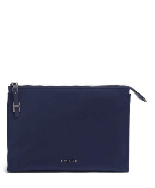 Basel Triangle Pouch in Midnight