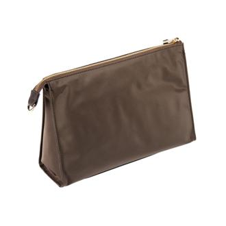 BASEL TRIANGLE POUCH Brown - medium | Tumi Thailand