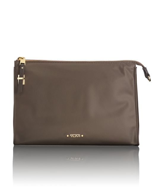 Basel Triangle Pouch in Mink