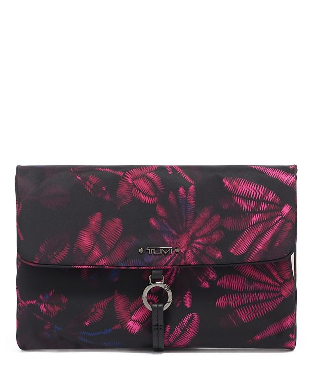 Ennis Jewelry Travel Roll in Floral Tapestry