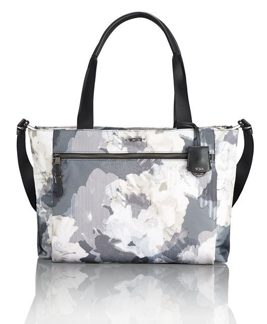 Mauren Tote in Camo Floral