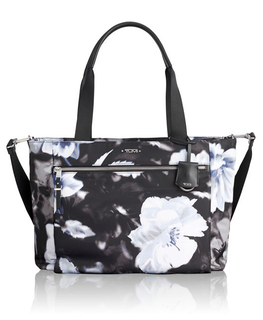 Mauren Tote in Photo Floral