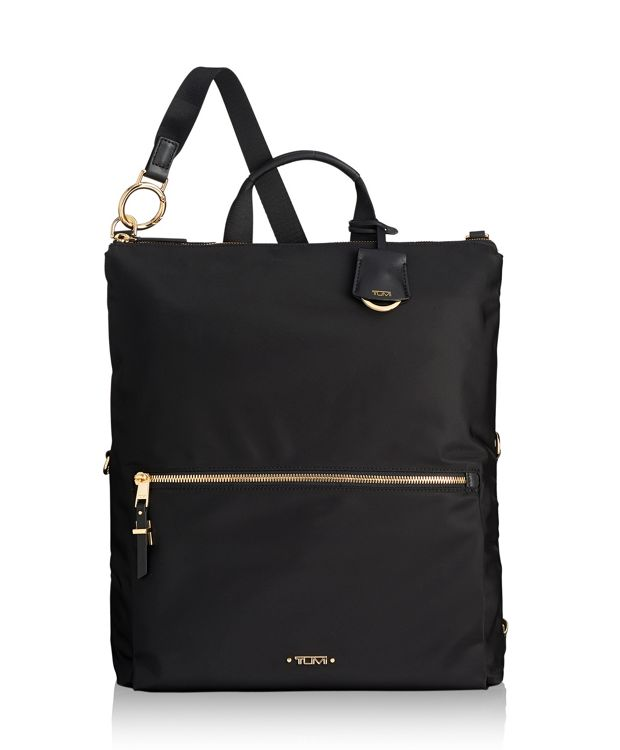 Jena Convertible Backpack in Black