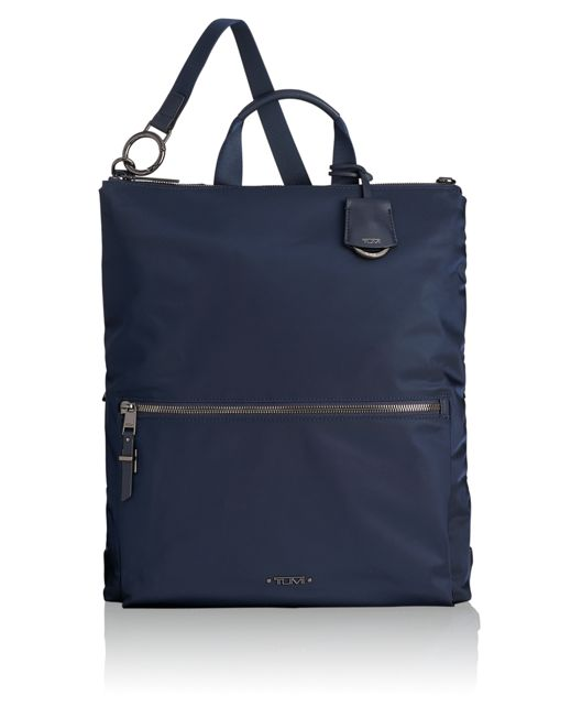 Jena Convertible Backpack in Navy