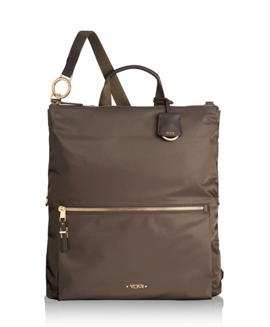 Jena Convertible Backpack in Mink