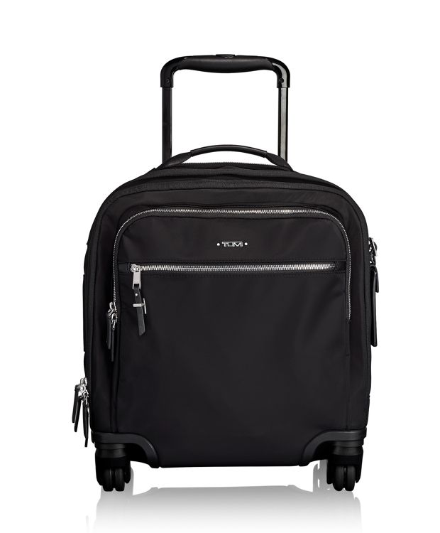 Osona Compact Carry-On in Black/Silver