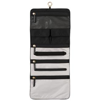 ENNIS JEWELRY TRAVEL ROLL Black - medium | Tumi Thailand