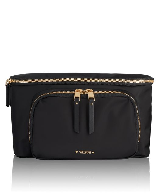 Mariel Hip Bag in Black