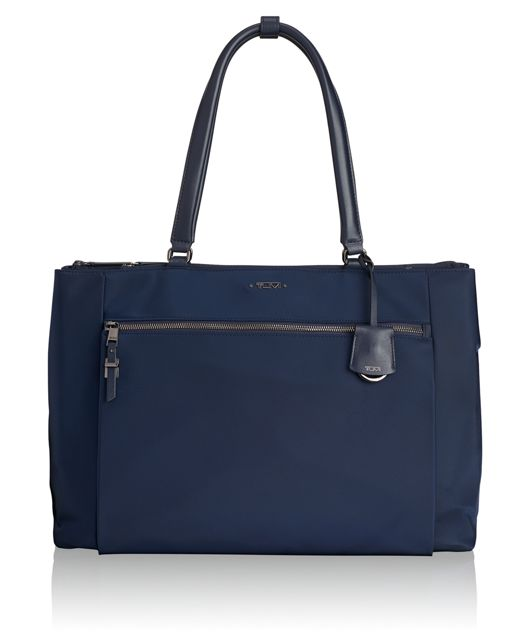 Sheryl Business Tote in Navy