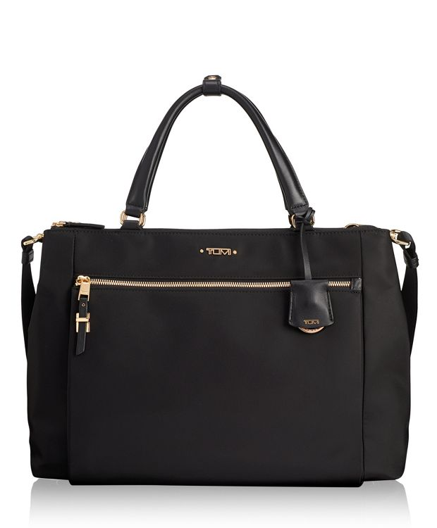 Sheryl Small Business Tote in Black