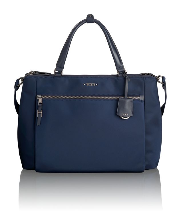 Sheryl Small Business Tote in Navy