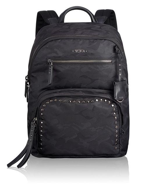 Hagen Backpack in Black Camo