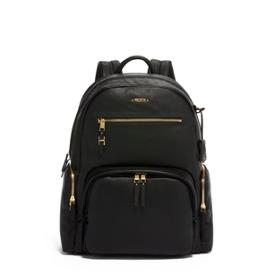 Carson Backpack Leather in Black ...