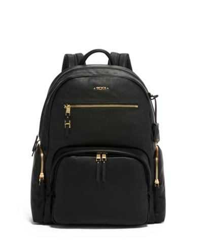 Carson Backpack Leather - Voyageur - Tumi United States - Black 8a5a347c78