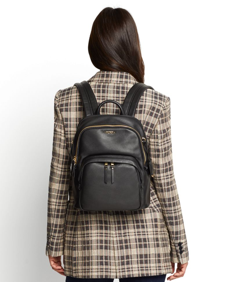 Dori Leather Backpack
