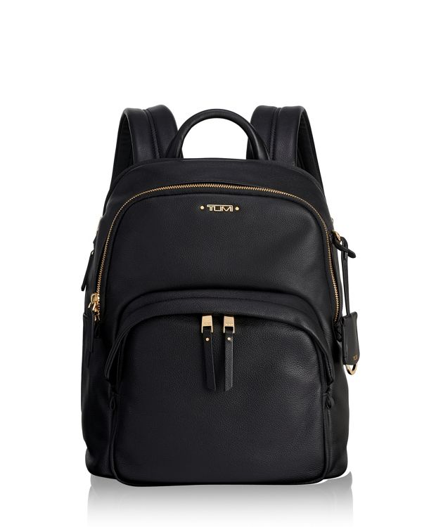 Dori Leather Backpack in Black
