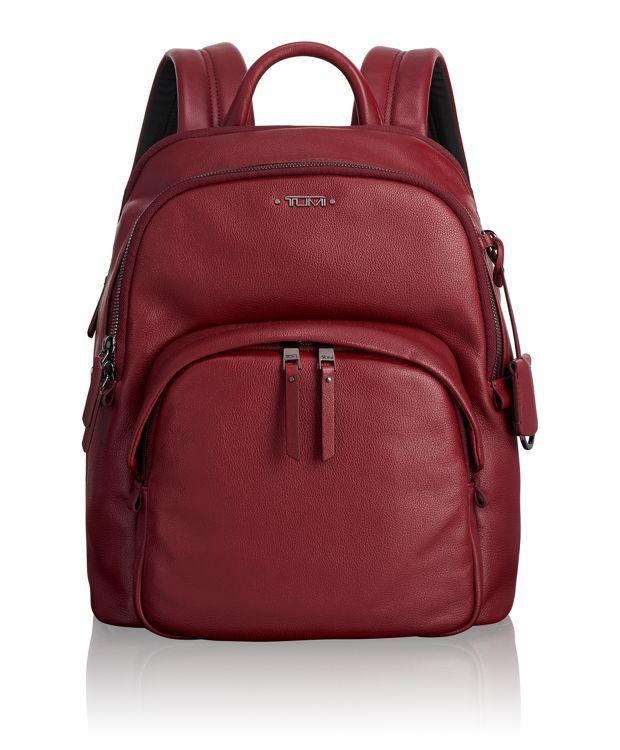 Dori Backpack Leather in Brick