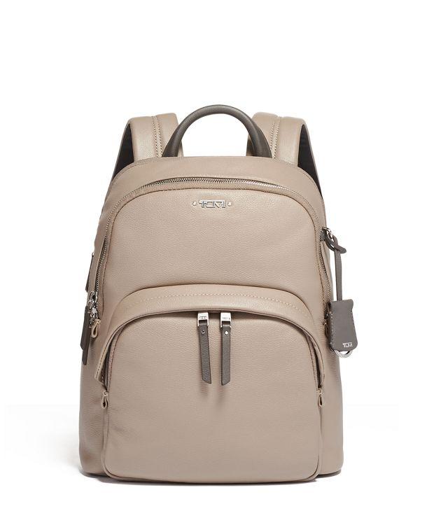 Dori Backpack Leather in Gobi