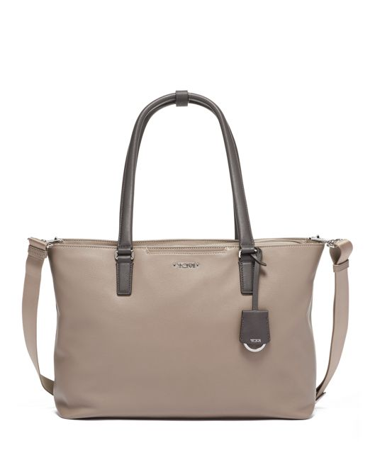 Monika Tote Leather in Gobi