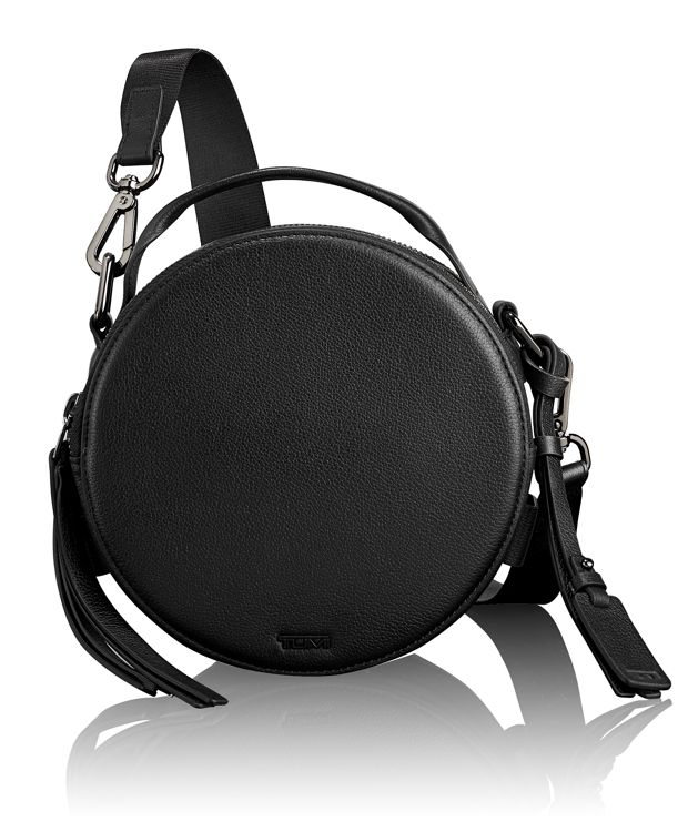Amy Circle Crossbody in Black