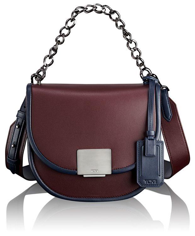 Bonnie Shield Bag in Burgundy