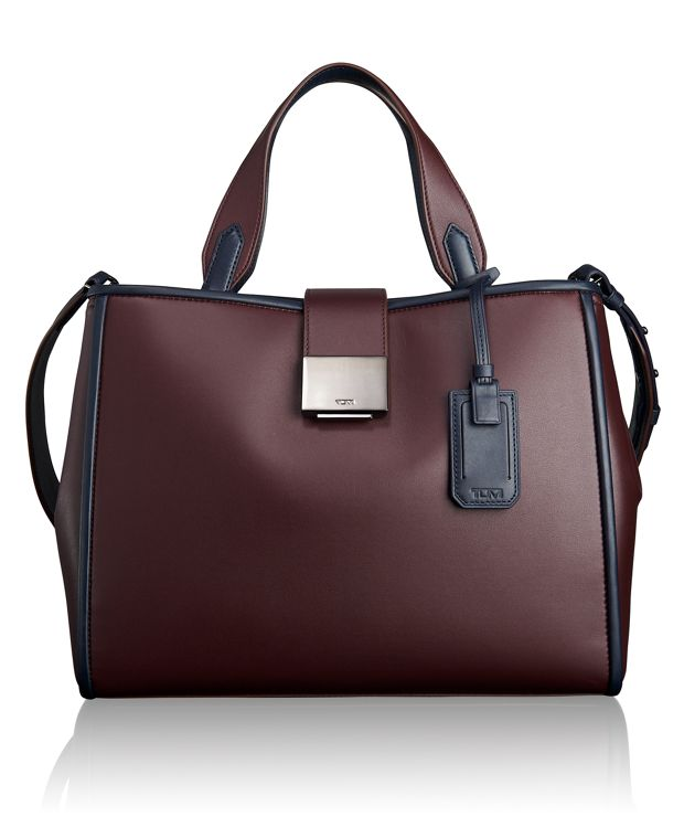 Vivian Tote in Burgundy