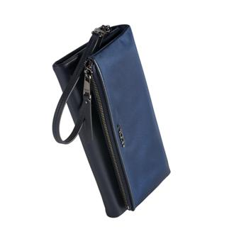 TRAVEL WALLET Navy - medium | Tumi Thailand