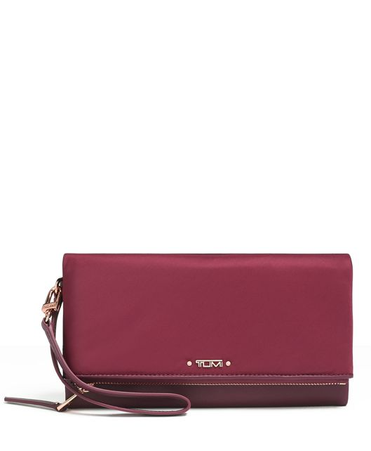 TRAVEL WALLET BERRY - large | Tumi Thailand