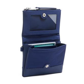 FLAP CARD CASE Blue - medium | Tumi Thailand