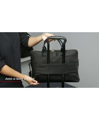 Black Joanne Laptop Carrier
