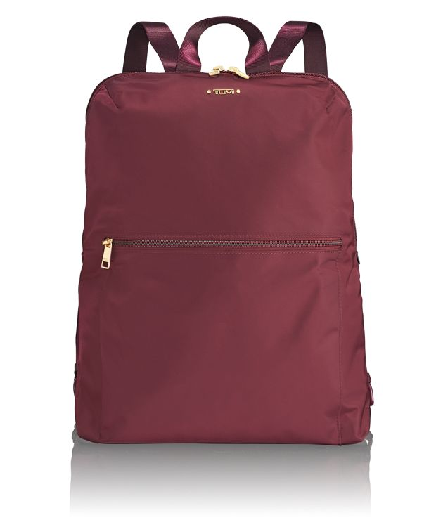 Just In Case® Backpack in Maroon