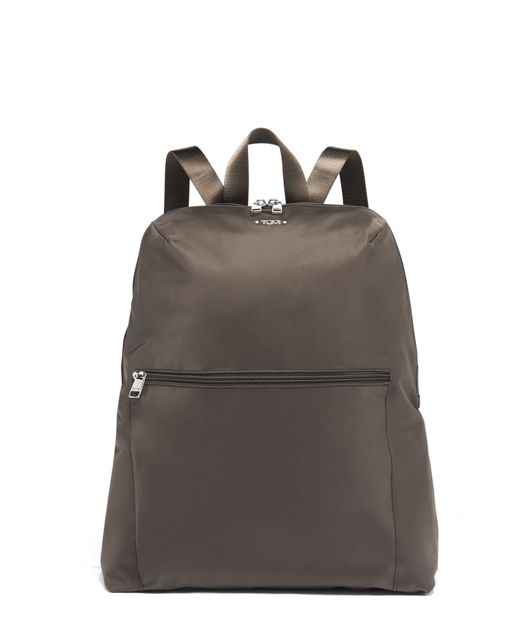 Just In Case® Backpack in Mink/Silver