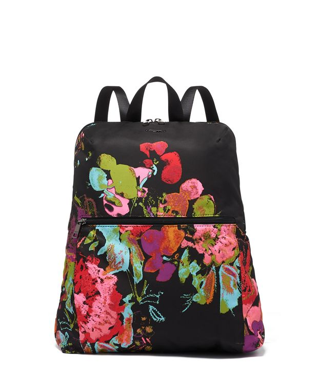 Just In Case® Backpack in Collage Floral