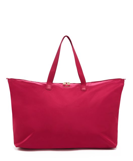 Just In Case® Tote in Raspberry