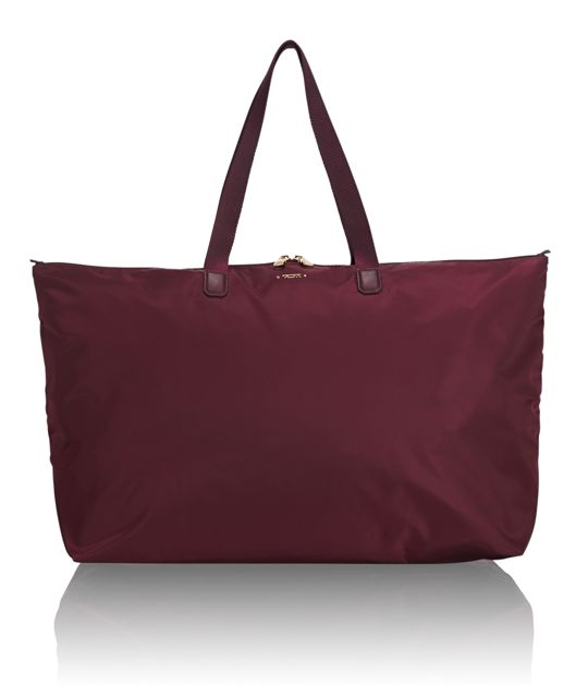 Just In Case® Tote in Maroon