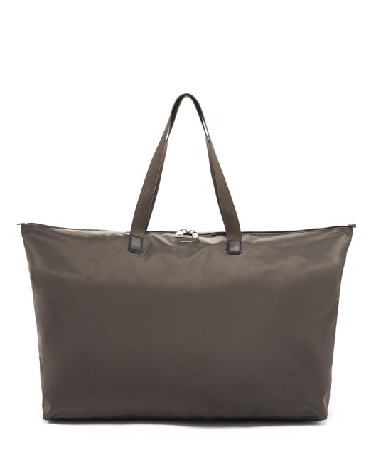 Just In Case® Tote in Mink/Silver
