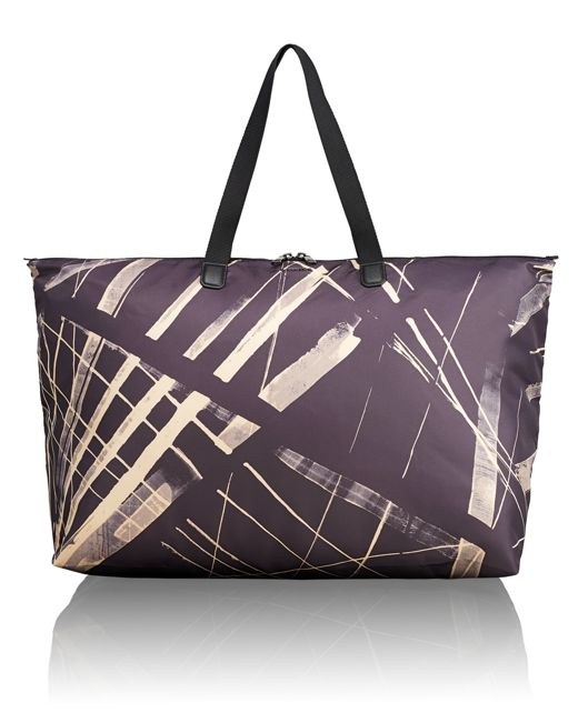 Just In Case® Tote in Line Print