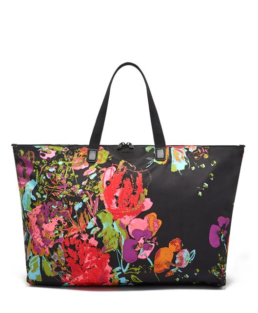 Just In Case® Tote in Collage Floral