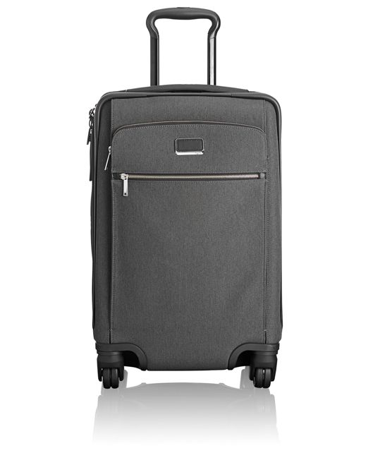 Sam International Expandable 4 Wheeled Carry-On in Anthracite/Black