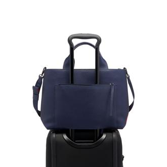 SATYA SATCHEL Blue - medium | Tumi Thailand