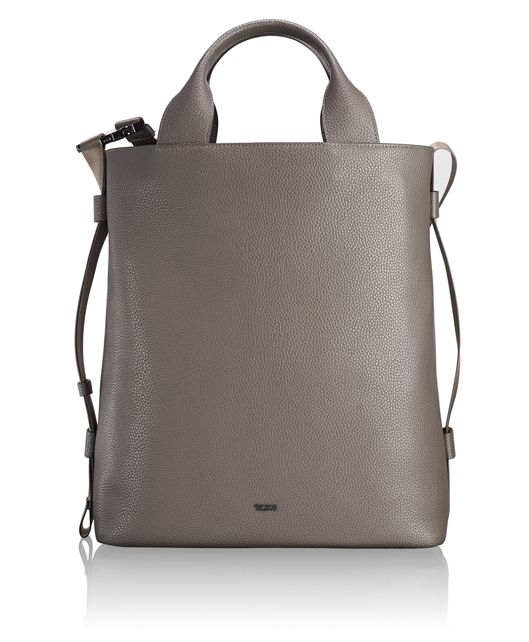 Kamini North/South Tote in Taupe